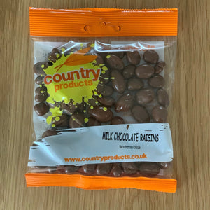 Milk Chocolate Raisins - Country Products 100g