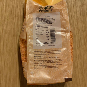 Red Lentils - Country Products 500g