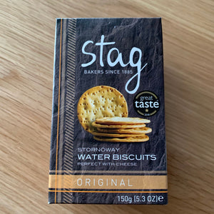 Stag Stornoway Original Water Biscuits 150g