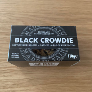 Black Crowdie Cheese 110g