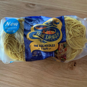 Blue Dragon Fine Egg Noodle Nests 300g