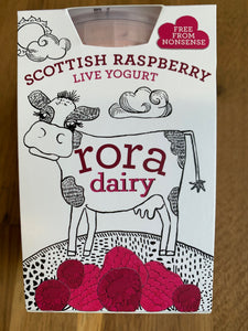 Rora Dairy - Scottish Raspberry Yoghurt 490g