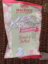 Load image into Gallery viewer, Mackie's Sweet & Salted Popcorn 100g