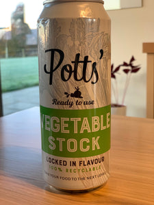 Potts Vegetable Stock 500ml Recyclable Can
