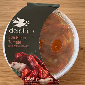 Sun Ripened Tomatoes with white cheese 260g Delphi Foods