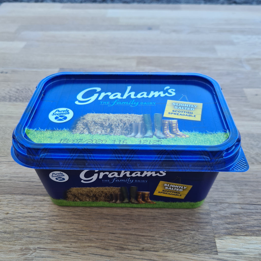Grahams Slightly Salted Spreadable Butter