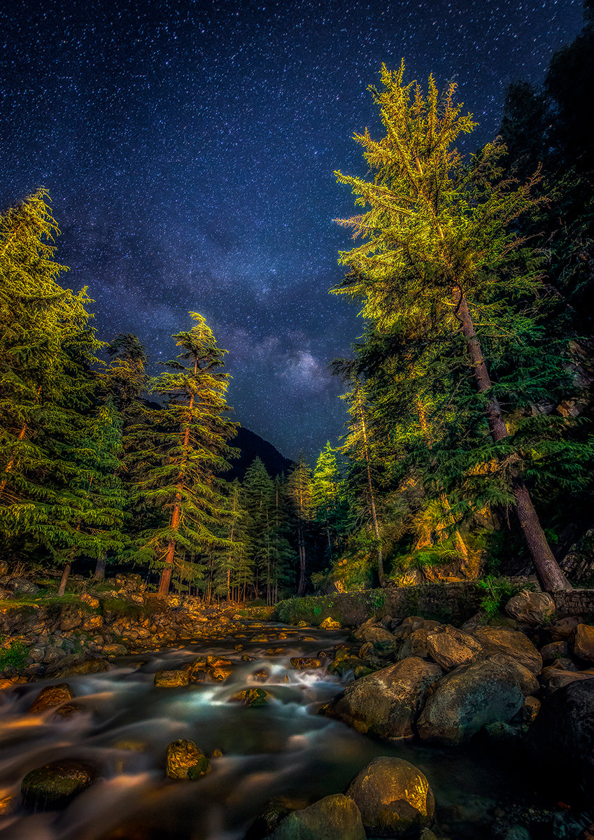 Milky Way Over Parvati River