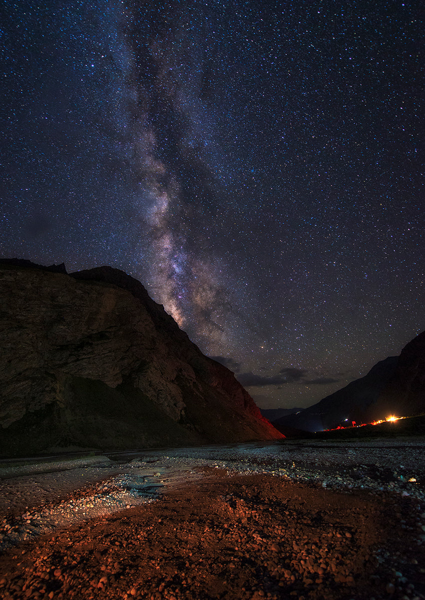 Bhaga River & The Milky Way