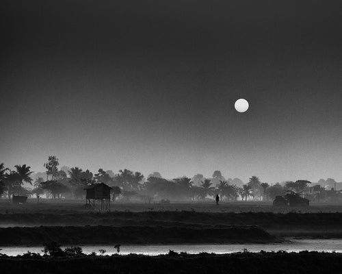 Dawn In Rural Bengal