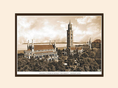 Rajabai Tower & Bombay University