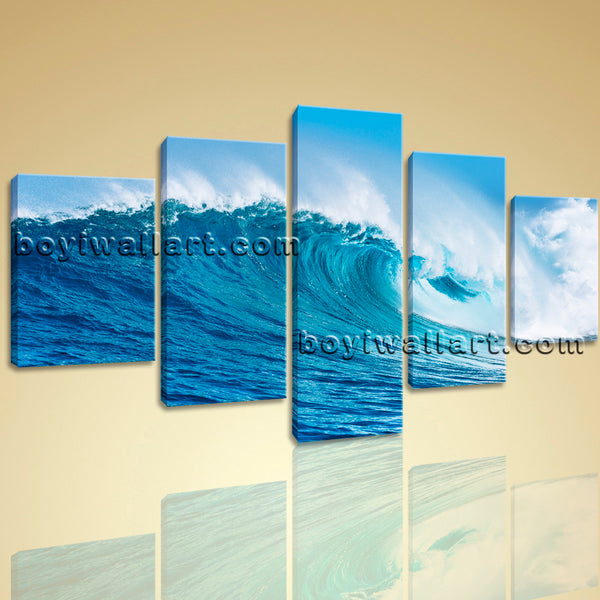 Sea Wave painting