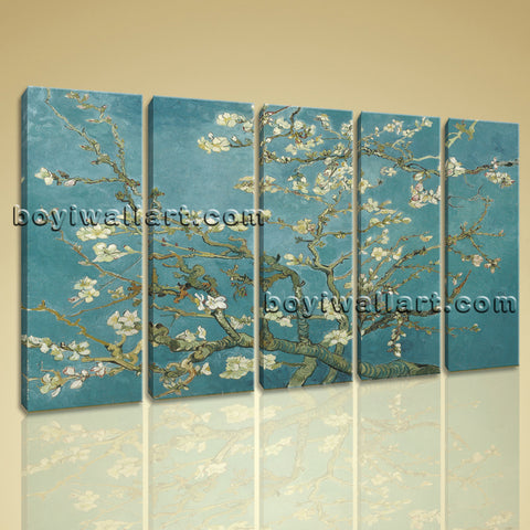 Almond Blossom painting