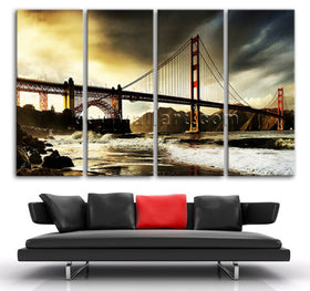 Landmarks canvas art