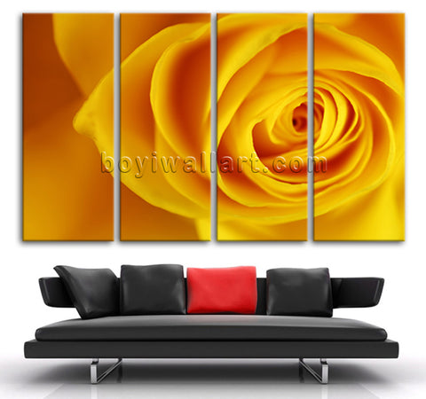 Rose Flower canvas art