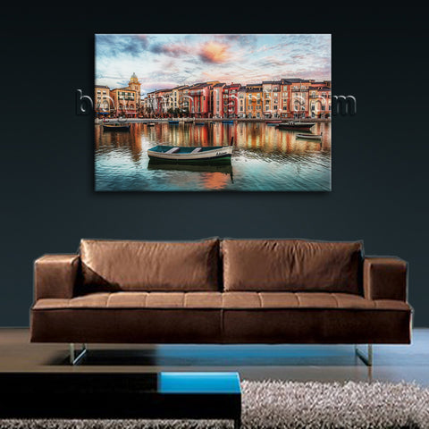 Cityscape Wall Decor