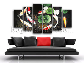 Koi Fish wall decor
