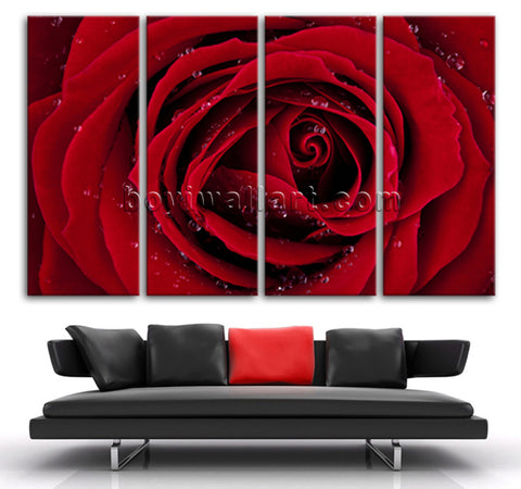 Rose Flower wall decor