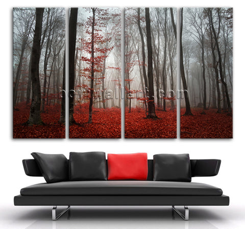 Forest wall art