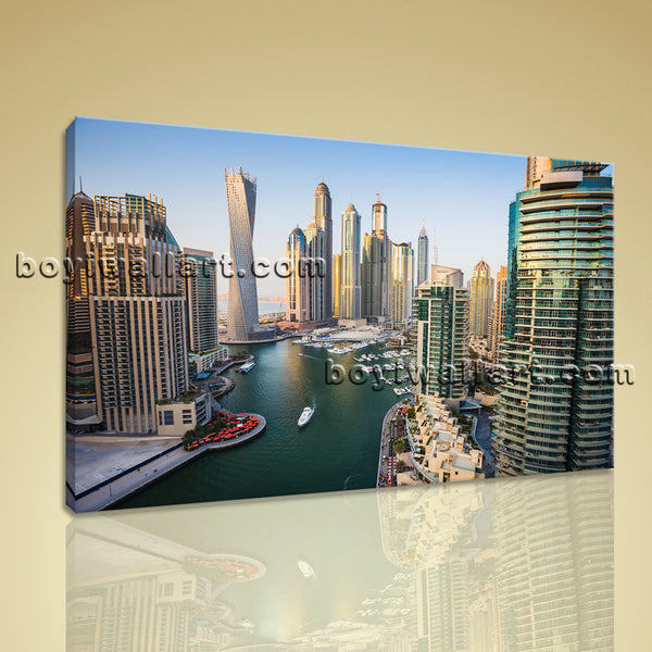 Cityscape canvas art