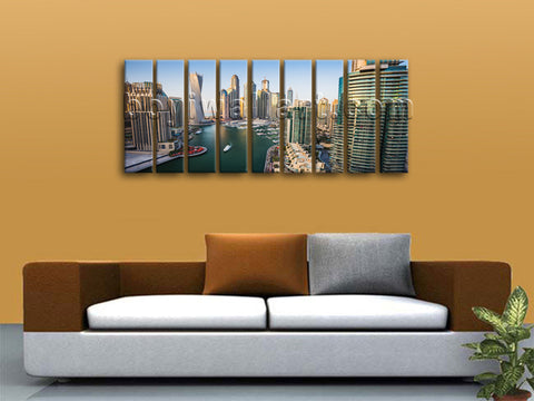 Dubai wall decor