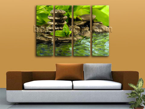 Zen canvas art