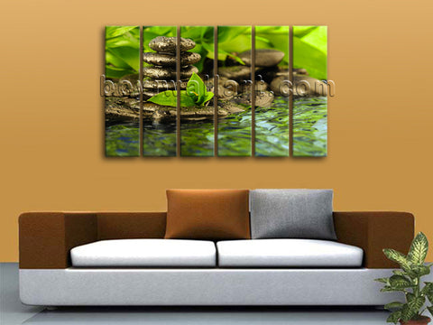 Zen wall decor
