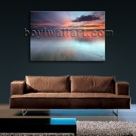 Sunrise wall decor
