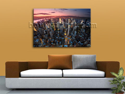 New York hd print