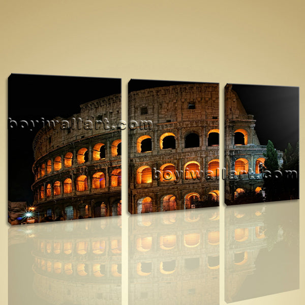Architecture canvas art
