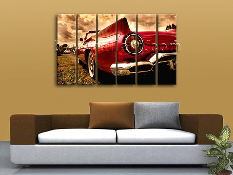 Vintage Car wall art