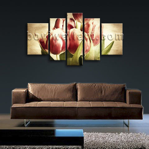 Tulip Flowers hd print