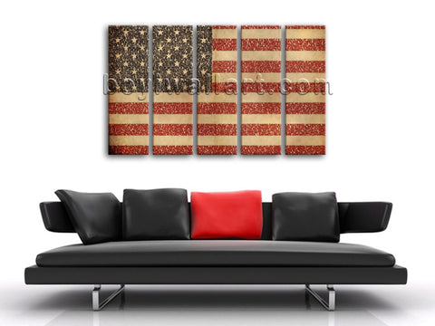 Wall Art Printed On Canvas