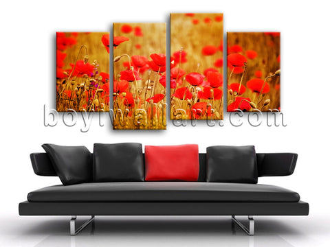 Wall Art Print Canvas Decor