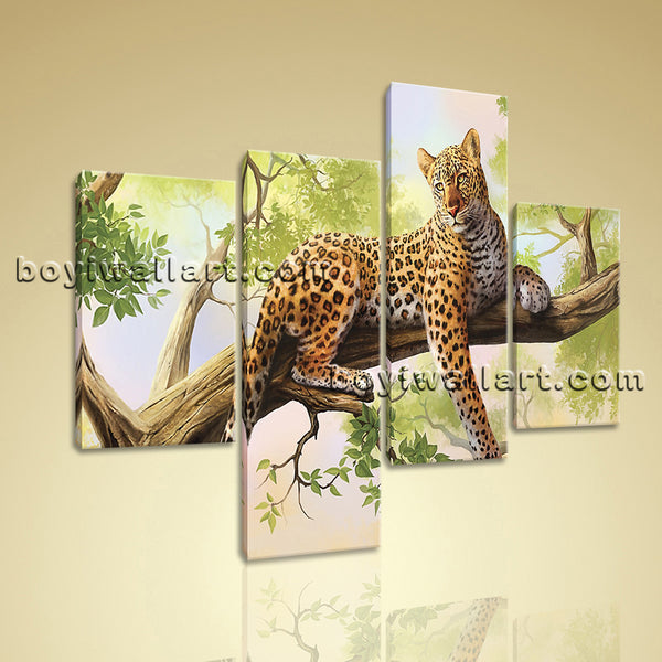 Leopard Animal Paintings