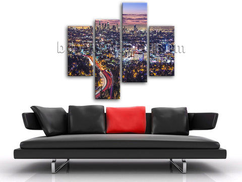 los angeles wall decor