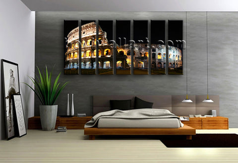 Landmarks wall decor