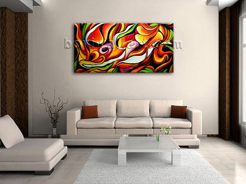 original painting on canvas