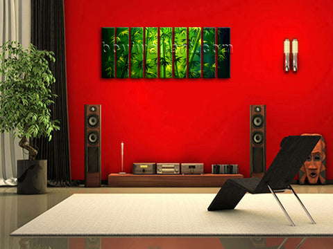 Bamboo Canvas Art