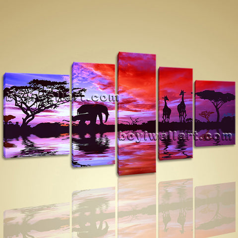 Landscape wall art
