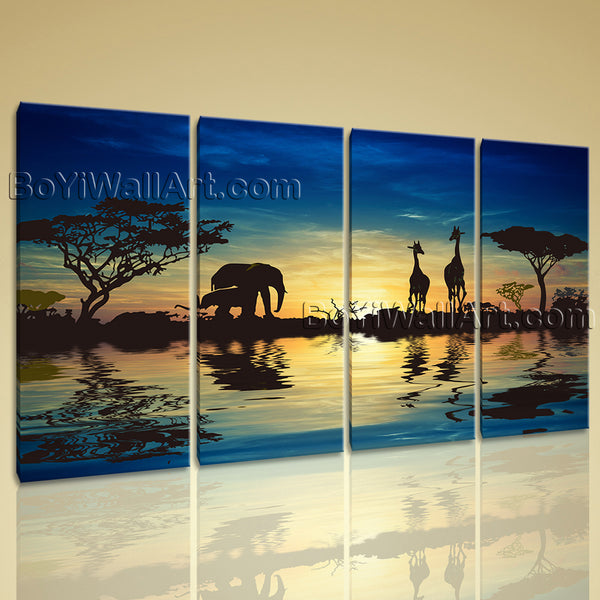 Landscape canvas art