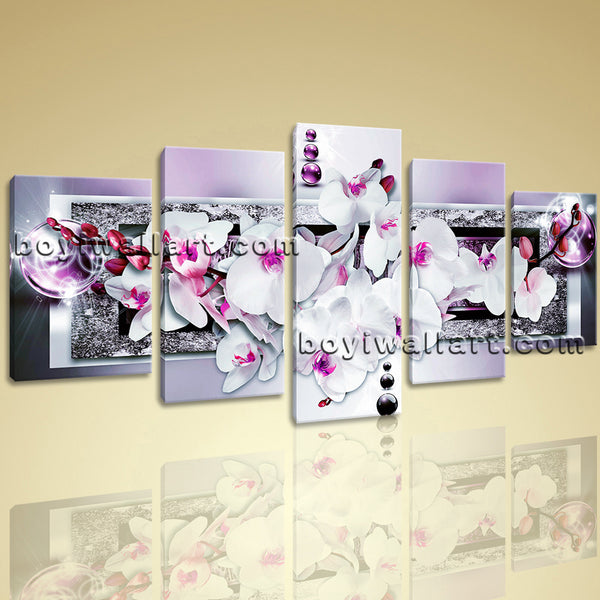Vibrant Orchid Flower Wall Art
