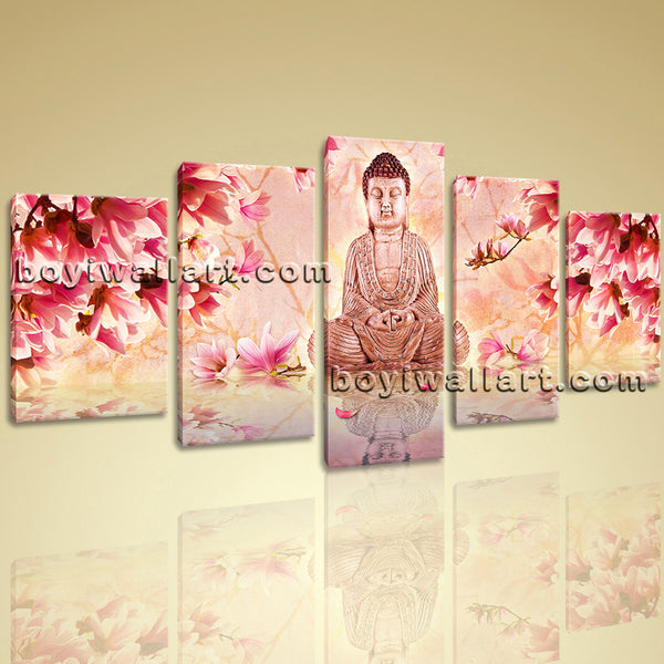 Beautiful Buddha Canvas Print