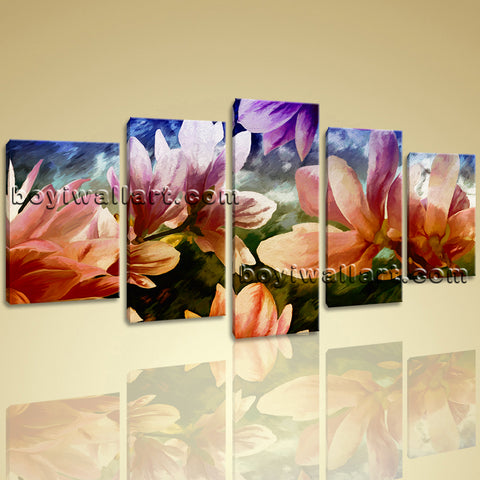 Beautiful Tulip Flower Canvas Wall Art