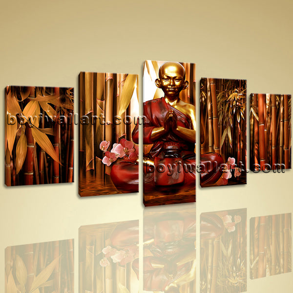 Beautiful Buddha Canvas Art