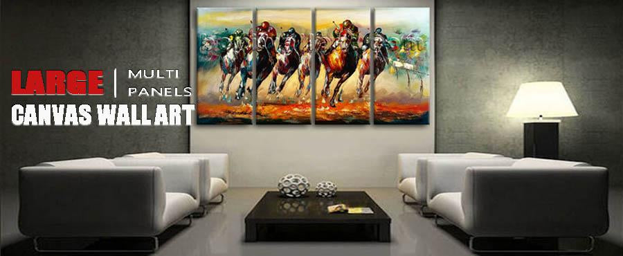 Extra Large Canvas Wall Art Modern Abstract Painting Living Room Decor