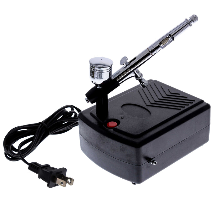 Master Performance G23 Airbrush Kit with Master Compressor Mini Portable TC-22, Air Hose & Case (Includes Booklet)