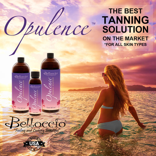 Professional Belloccio Airbrush Sunless Tanning System with a Gravity Feed Airbrush & 4 oz. of Belloccio Opulence Tanning Solution