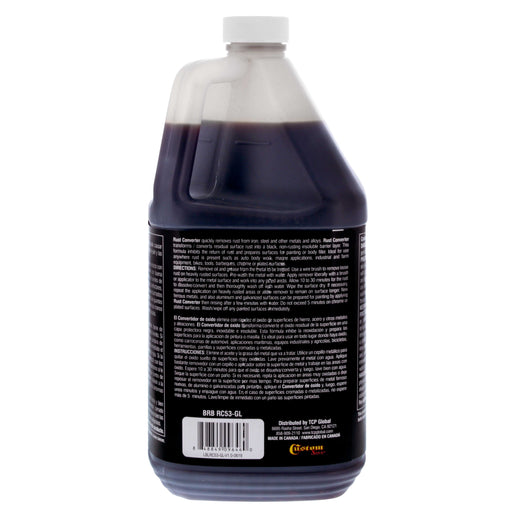 Barrier Bond - Rust Off - Rust-Converter Coating - 1 Gallon Container of Premium Rust Converting Coating - Anti-Rust Protection for Underbody Rustpoofing - Converts Rust to an inert Black Barrier