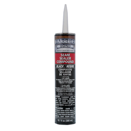 Black Seam Sealer Compound - 10.1 fl. Ounce Tube