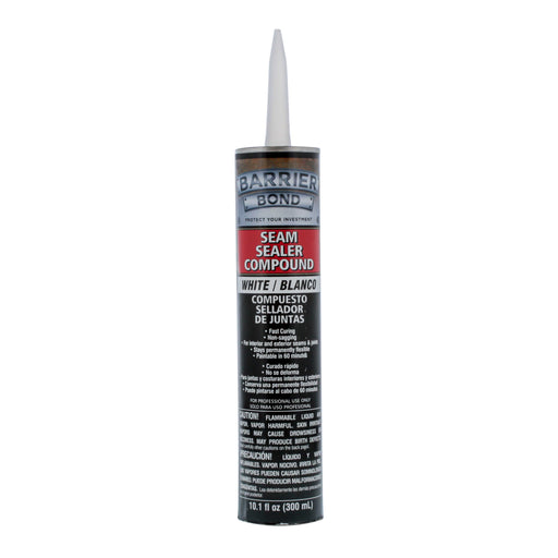 White Seam Sealer Compound - 10.1 fl. Ounce Tube